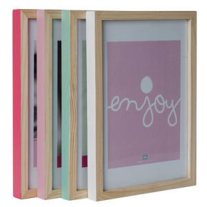 Large Hand Painted Photo Frame Pack - Pastels