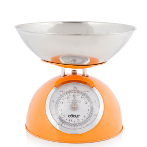 Cook In Colour 5kg Dome Kitchen Scales - Orange