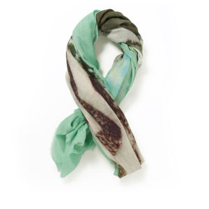 Holzweiler Women's King Dapper Monster Scarf - Mint