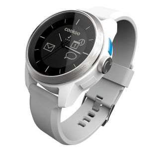Cookoo Smartwatch - Silver on White