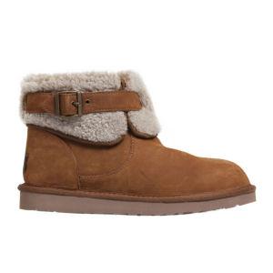 UGG Australia Women's Jocelin Ankle Sheepskin Boots - Chestnut