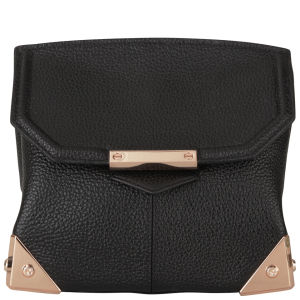 Alexander Wang Marion Leather Bag - Black Pebble/Rose Gold