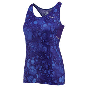 Saucony Women's Freedom Sleeveless T-Shirt - Twilight Print