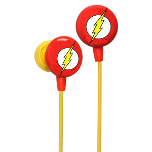 iHip DC Comics Flash Logo Printed Earphones