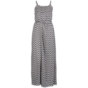 Influence Women's Zig Zag Maxi Dress- Navy/Cream