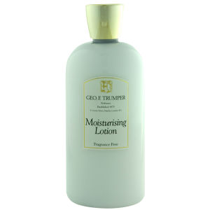 Trumpers Fragrance Free Moisturiser  - 500ml Travel