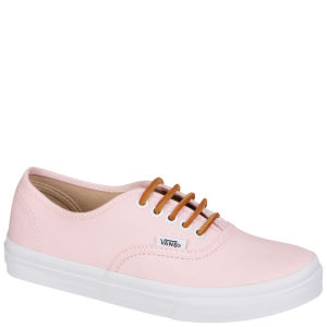 Vans Authentic Slim Brushed Twill Trainer - Soft Pink
