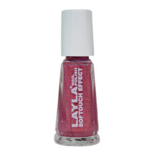 Layla Cosmetics Softouch Effect Nail Polish N.05 Cherry Diva (10ml)