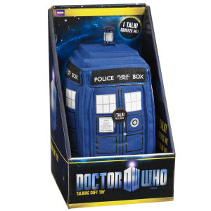 Doctor Who 9 Inch Plush With Sound - Tardis - DNU