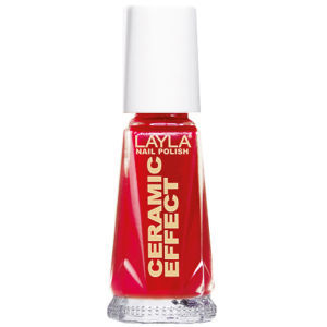 Layla Cosmetics Ceramic Effect Nail Polish N.06 Milan Red (10ml)