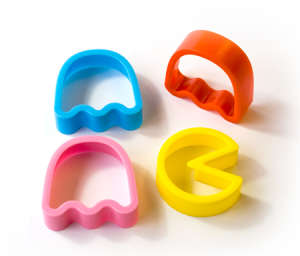 Pac-Man Cookie Cutter