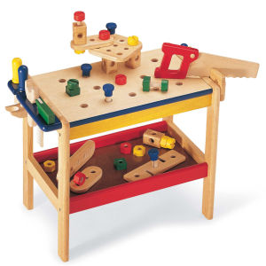 Pintoy Wooden Workbench