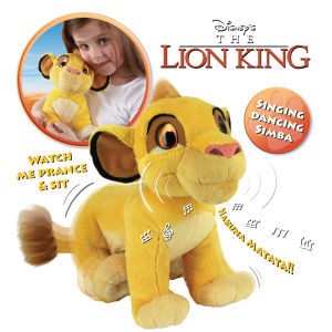 Anipets Singing 10 Inch Dancing Simba