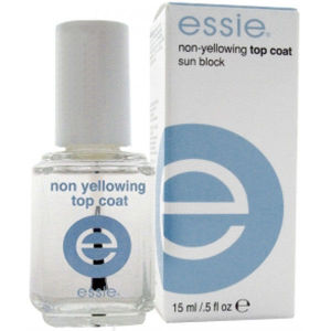 Essie Non-Yellowing Top Coat Sun Block 15ml