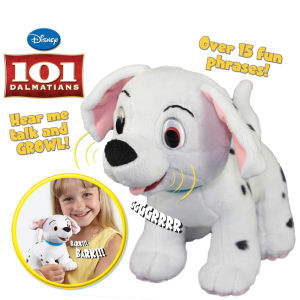 Anipets 101 Dalmations 7.5 inch Bark 'n' Howl Penny