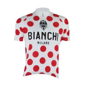 Bianchi Pride Short Sleeve Jersey - Polka Dot