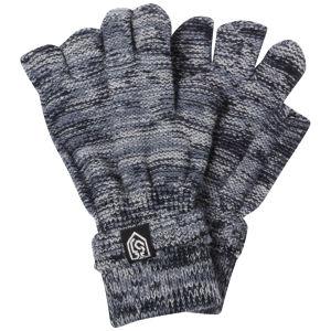 Smith & Jones Herren Erratica Twist Fingerfreie Handschuhe - Blau Mix - Einheitsgröße