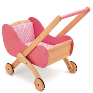 Pintoy Wooden Doll's Buggy