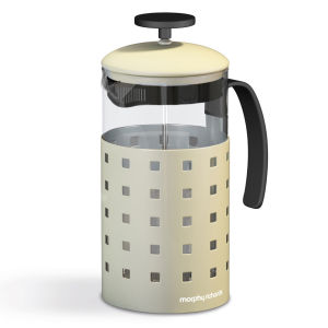 Morphy Richards Accents 8 Cup Cafetiere - Cream