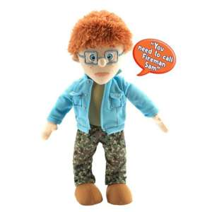 Fireman Sam: 12 Inch Talking Norman