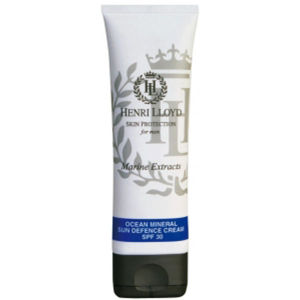 HENRI LLOYD OCEAN MINERAL SUN DEFENCE CREAM SPF30 (80ML)