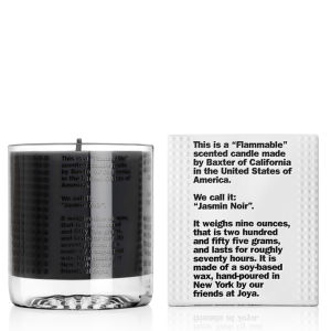 Baxter of California Flammable Candle Jasmine Noir