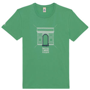 Le Coq Sportif Tour de France N15 Short Sleeved T-Shirt - Green