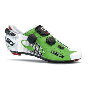 Sidi Wire Carbon Vernice Cannondale Ltd Edition Cycling Shoes - Green/Black/White 2014