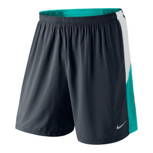 Nike Men's 7 Inch Pursuit 2-in-1 Running Shorts - Navy