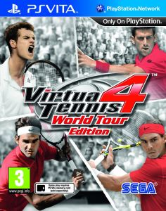 Virtua Tennis 4 (Vita) PAL UK
