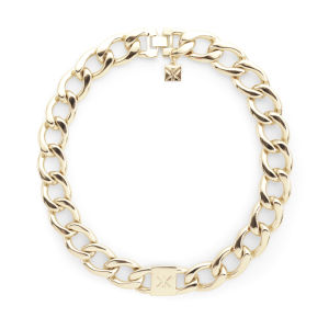 Kardashian Kollection KK Curb Chain Necklace - Gold