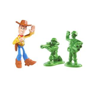 Toy Story 3 - Buddy Pack Waving Woody and Green Army Man