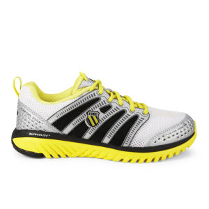 K-Swiss Men's Blade Light Race Running Shoes - White/Silver/Black