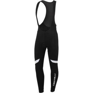 Castelli Velocissimo 2 Men's Bib Tights - Black/White