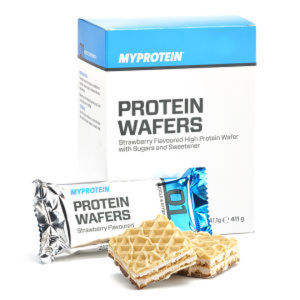 Protein Wafers, Chocolate 10x40