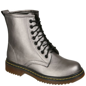 Odeon Women's Lace up Ankle Boots - Pewter