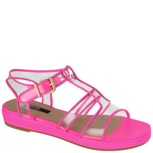 Senso Women's Heara Flat Sandals - Fluro Pink
