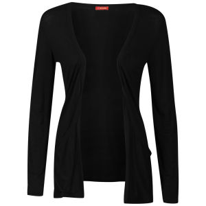 Influence Women's Jersey Long Sleeve Cardigan - Black