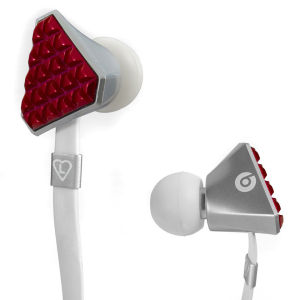 Beats by Dr. Dre Lady GaGa Heartbeats Earphones - Red