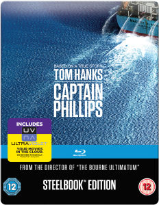 Captain Phillips: Mastered in 4K Editie - Steelbook Editie (Bevat UltraViolet Copy)