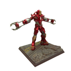 Dragon Action Heroes Marvel Iron Man Mark 35 Red Snapper 1:24 Scale Pre Built Model