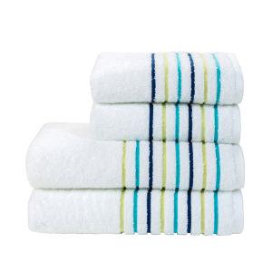 Kingsley Lifestyle Ribbon Towel - Ultra Marine