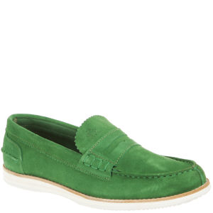 Baracuta Men's Isaac Shoes - Suede Green