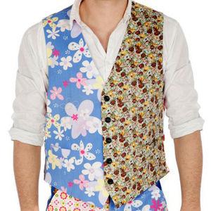 Foul Fashion Men's Waistcoat - Multi