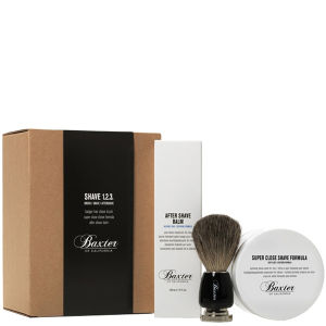 Baxter of California - Shave Kit 1-2-3 (with Best Badger Brush)