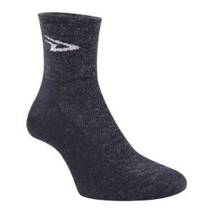DeFeet Wooleator Socks - Charcoal Black