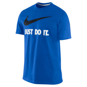 Nike Men's Just Do It T-Shirt - Game Royal Blue