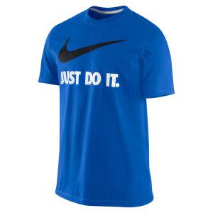Nike Men's Just Do It T-Shirt - Game Royal Blue