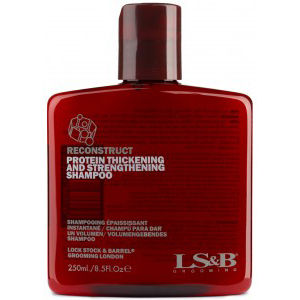 Lock, Stock & Barrel Reconstruct Hair Thickening Wash 250ml