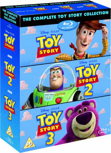 Toy Story 1, 2 and 3
